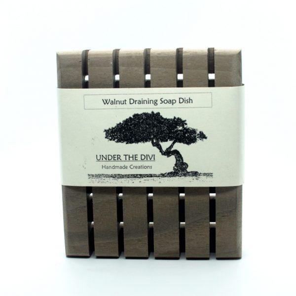 Walnut Soap Dish